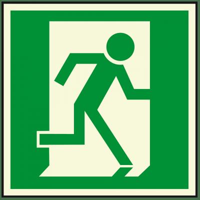 Notausgang, rechts