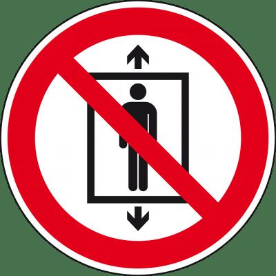 Personenbeförderung verboten