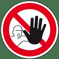 Zutritt verboten