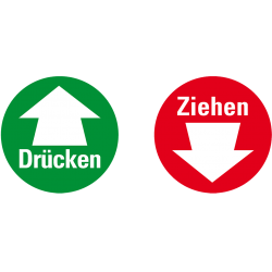 Drücken / Ziehen (double-sided)