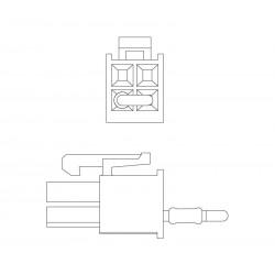 CAN terminating resistor 4p