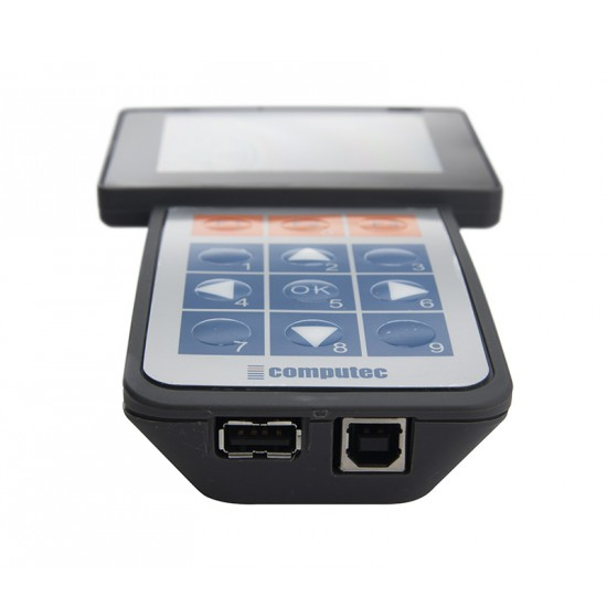 Hand-held terminal with cable for CDD