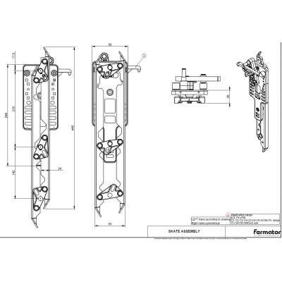 Fermator Türschwert VF links und zentral öffnend
