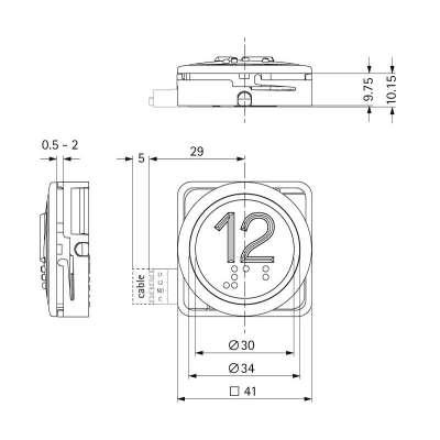 B 37 R 15-09-00-10-15 arrow