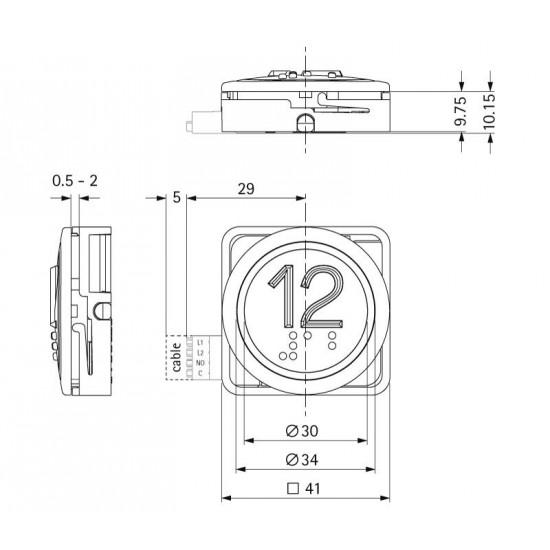 B 37 R 15-09-00-20 12-30V 15