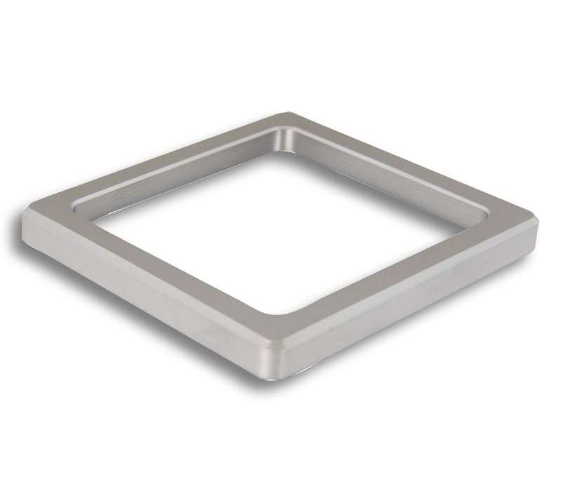 Rosette Style 56 square (Metall)