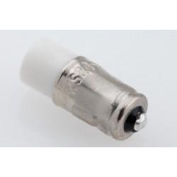 Single-LED white, BA7S, AC/DC, 24-28V