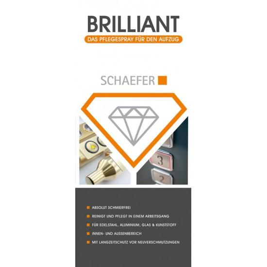 Stainless Steel Care Spray Brillant (150 ml)