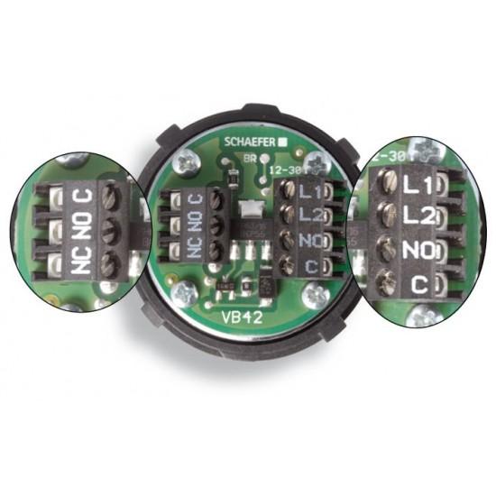 VB 42 LED blue 04-01-02-20-12-30V-03